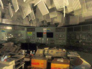 1号機の中央管理室(写真:東電提供)