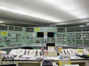 3号機の中央制御室はほぼ無傷だった(写真:東電提供)
