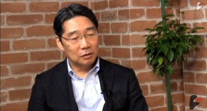 ビデオニュースドットコムでインタビューに応じる前川喜平氏