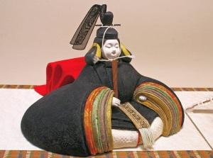 木目込みの雛人形(鐸木能子・作)