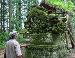 一色(いしき)の鐘鋳神社にて 2005年8月2日